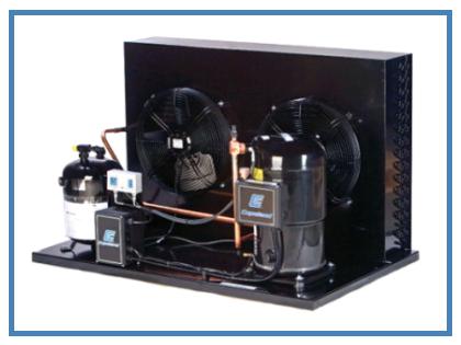 Агрегаты на базе спиральных компрессоров